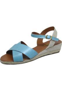 Sandália S2 Shoes Tiras Azul - Tricae
