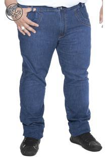 Calça Jeans Bigshirts Plus Size Lisa Azul