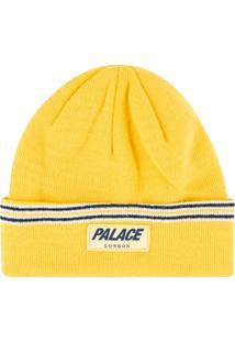 Palace Gorro J-Stripe - Amarelo