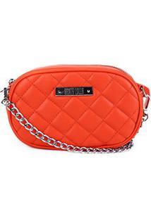 Bolsa Santa Lolla Mini Bag Matelassê Feminina - Feminino-Laranja