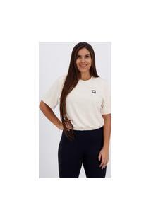 Cropped Fila Sports Forward Feminino Off White
