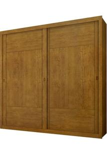 Guarda-Roupa Dalí - 2 Portas - Imbuia - Sem Espelho