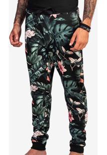 Calça De Moletom Floral 400092