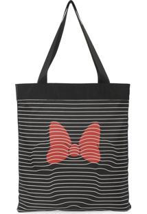 Bolsa Tote Bag Luxcel Minnie Preta