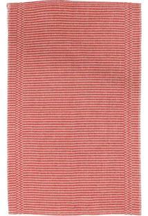 Tapete De Cozinha Safari Rib I Algodão 150X47 Vermelho