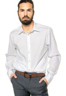 Camisa Calvin Klein White Label Reta Branca