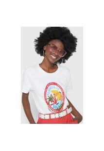 Camiseta Cantão Banana Branca