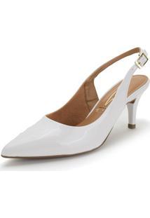 Sapato Feminino Chanel Vizzano - 1185700 Branco 34