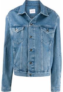 Lourdes Jaqueta Jeans Oversized Lou - Azul