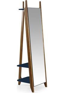 Espelho Stoka Azul Marinho Máxima