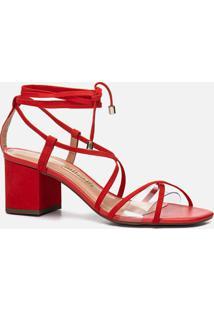 Sandália Feminino Milano Red 11171