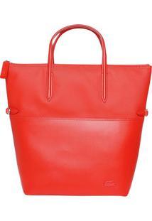 Bolsa Com Recortes - Vermelha - 45X36X13Cmlacoste