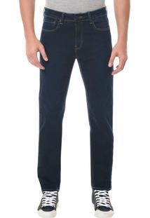 Calça Jeans Five Pocktes Slim Straight Ckj 025 Slim Straight - Marinho - 38