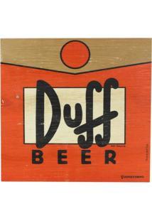 Quadro Duff Beer