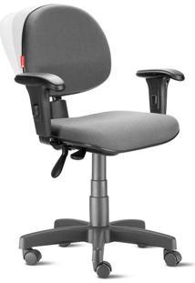 Cadeira Ergonômica Nr17 Executiva Crepe Cinza