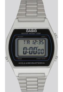 Relógio Analógico Casio Unissex - B640Wd1Avdf Prateado - Único