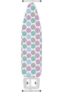 Tábua De Passar Ipanema Floral - Flash Limp - Colorido