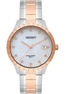 Relógio Orient Feminino Eternal Analógico - Feminino-Prata+Dourado