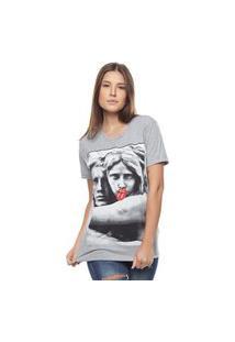 Camiseta Bossa Brasil Estatua Mescla