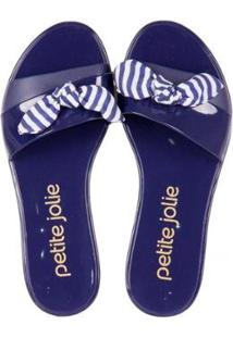 a46f6a63e5 ... Chinelo Petite Jolie Navy Feminino - Feminino-Azul