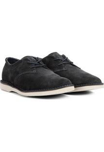 Sapato Couro Kildare Casual Camurça Masculina - Masculino-Marinho