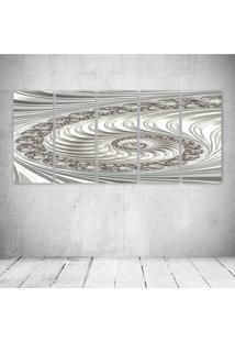 Quadro Decorativo - Fractal263 - Composto De 5 Quadros - Multicolorido - Dafiti