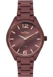 Relógio Condor Premium Co2036Muc/4M Feminino - Feminino-Marrom
