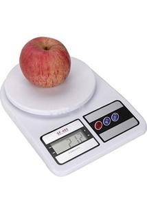 Balança De Cozinha Digital Eletrônica De Precisão Até 10Kg Sf-400