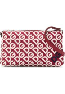 Dolce & Gabbana Kids Clutch Com Logo - Vermelho