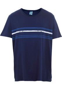 Camiseta Plus Size Masculina Sg - Marinho