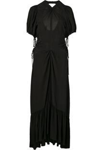 Proenza Schouler Vestido Texturizado - Preto