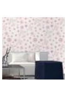 Papel De Parede Autocolante Rolo 0,58 X 3M - Floral 1259