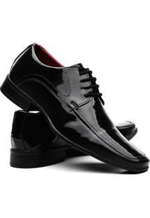 Sapatos Social Vr Verniz Masculino - Masculino