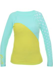 Camiseta Lycra Roxy Optic Nature - Feminino
