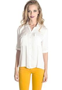 Camisa Colcci - Feminino-Off White