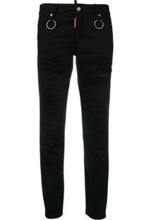 Dsquared2 Calça Jeans 'Runaway' - Preto