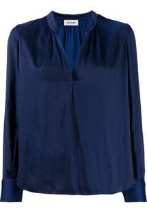 Zadig&Voltaire Blusa Tink - Azul