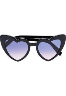 688b3c477d37f Óculos De Sol Coracao Saint Laurent feminino