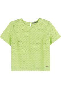 Blusa Verde Em Laíse Neon