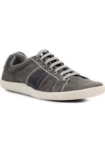 Sapatênis Couro Shoestock Craquele Masculino