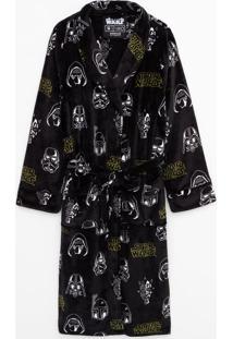 Roupão Em Fleece Star Wars