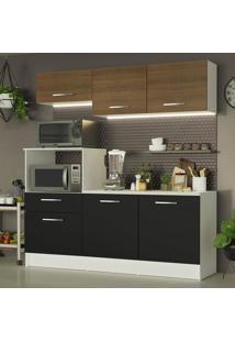 Cozinha Compacta Madesa Onix 180001 Com Armã¡Rio E Balcã£O Branco - Branco - Dafiti