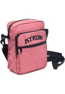 Bolsa Shoulder Bag - Ktron - Feminino-Rosa Antigo