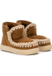 Mou Kids Eskisneak Ankle Boots - Marrom