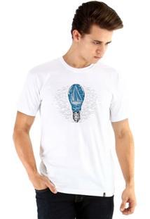 Camiseta Ouroboros Manga Curta Ship - Masculino