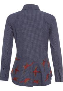 Camisa Masculina Josephine - Azul