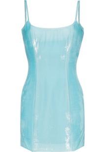 Halpern Vestido 'Bustier' - Azul