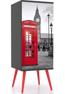 Armario Slim 1 Porta London 1,20 Mt (Alt) - 32442 - Sun House