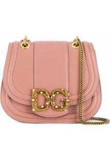 Dolce & Gabbana Bolsa Tiracolo Dg Amore - Rosa