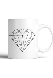 Caneca Decohouse Diamond Preto